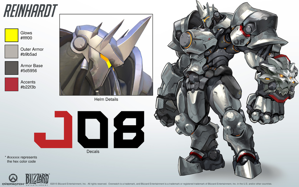 Overwatch Character Design Analysis : Image gallery overwatch reinhardt