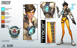 Tracer - Overwatch - Close look at model
