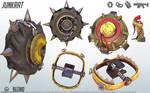 Junkrat - Overwatch - Close look at model