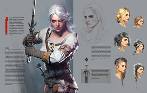 Cirilla Concept - Witcher 3 by PlanK-69