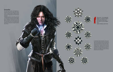 Yennefer Concept - Witcher 3