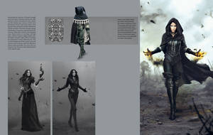 Yennefer Concept - Witcher 3 by PlanK-69