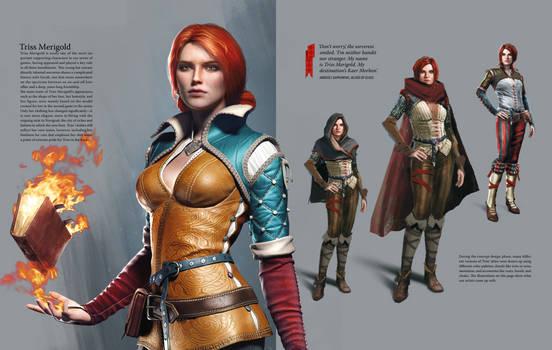 Triss Merigold Concept - Witcher 3