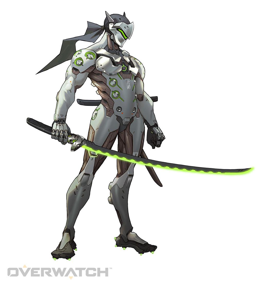 genji overwatch height