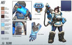 Mei - Overwatch - Close look at model