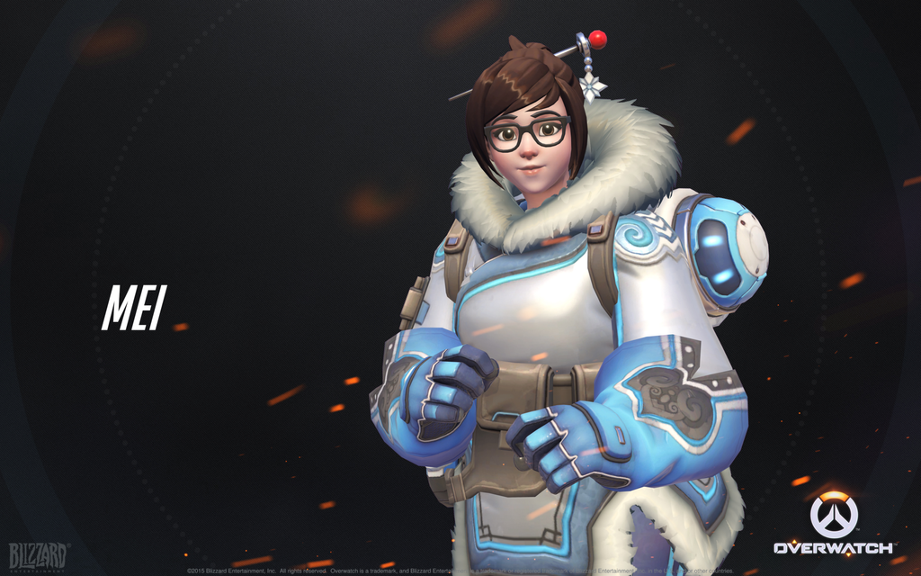 mei   overwatch by plank 69 d9gi3j0 - [Hero Concept] Mei, Intrepid Climatologist (Support)