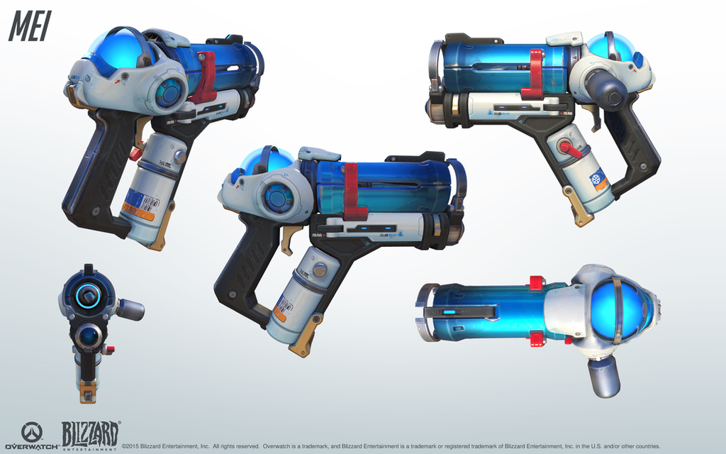 Hey guys, does anyone know of a nerf gun that looks anything like this  weapon from Overwatch? (or could be easily modified to look like it) ...