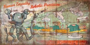 Milton General Hospital Billboard - Fallout 4 by PlanK-69