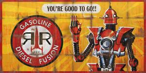 Red Rocket Billboard Advert - Fallout 4 by PlanK-69