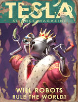 Tesla #1 Book - Fallout 4 by PlanK-69