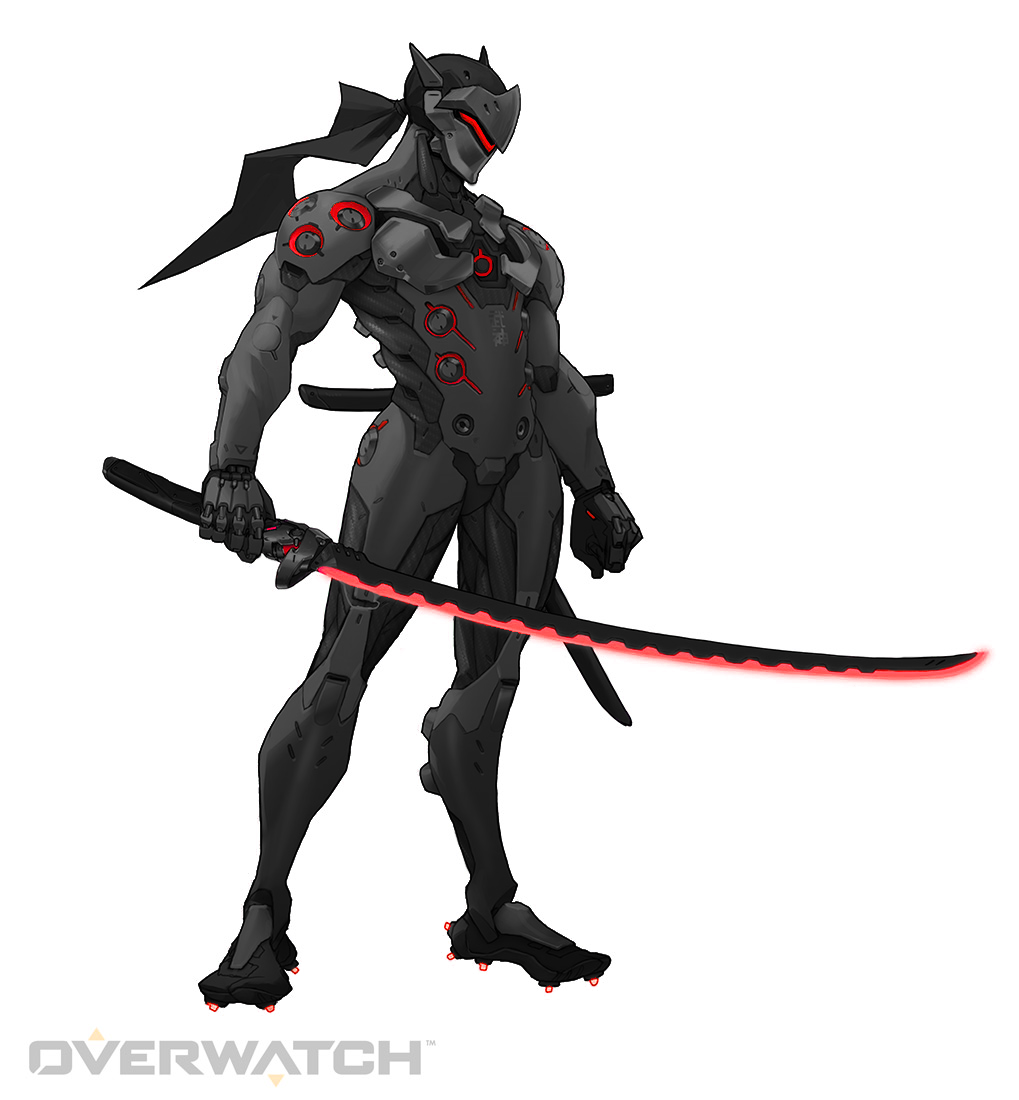 Black Genji Red