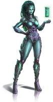 Shan'Ti Race - Star Crusade