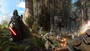 Darth Vader Battlescene - Star Wars Battlefront