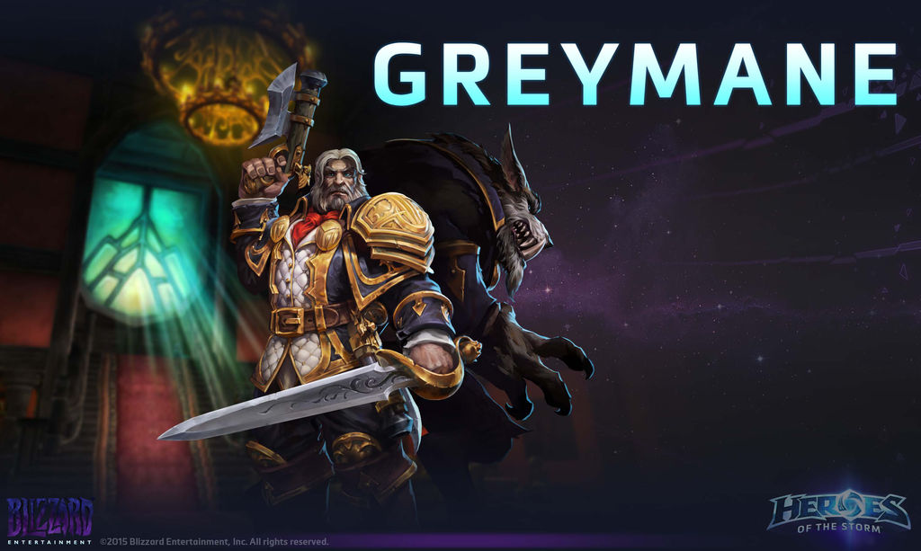 Greymane Heroes Of The Storm By Plank 69 On Deviantart Greymane (ranged assassin) patch note history for heroes of the storm (hots). deviantart