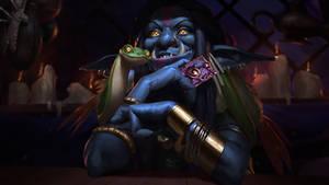 Voodoo Troll - Old Gods Hearthstone