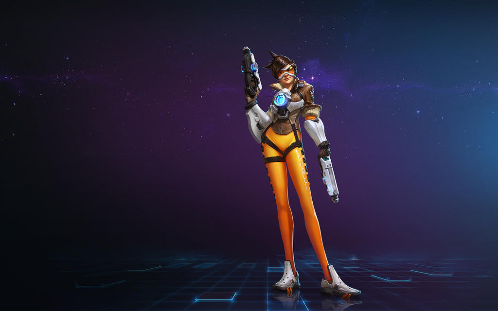 Tracer - Heroes of the Storm Wallpaper