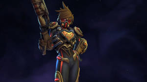 Tracer Spectre Skin - Heroes of the Storm