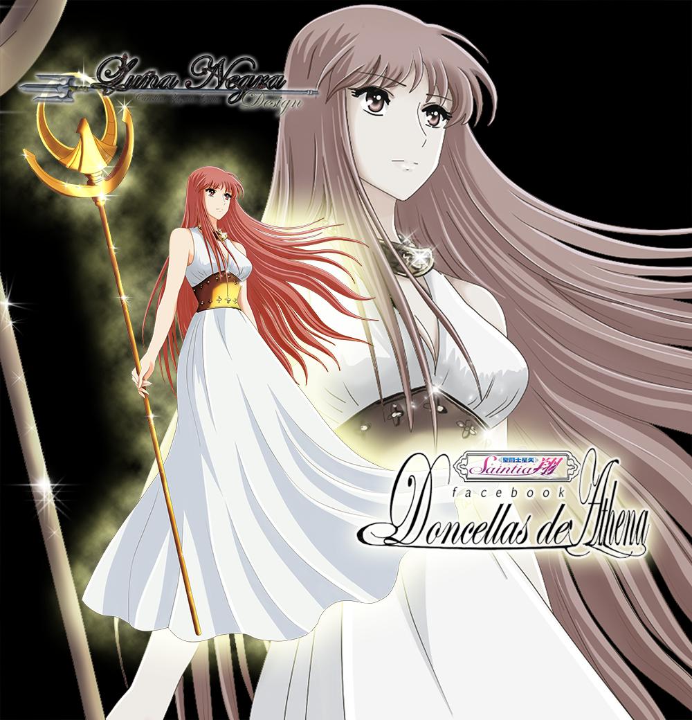 Saori Kido Athena -Saint Seiya Saintia Sho- By
