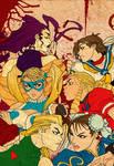 Street Fighter Girlies