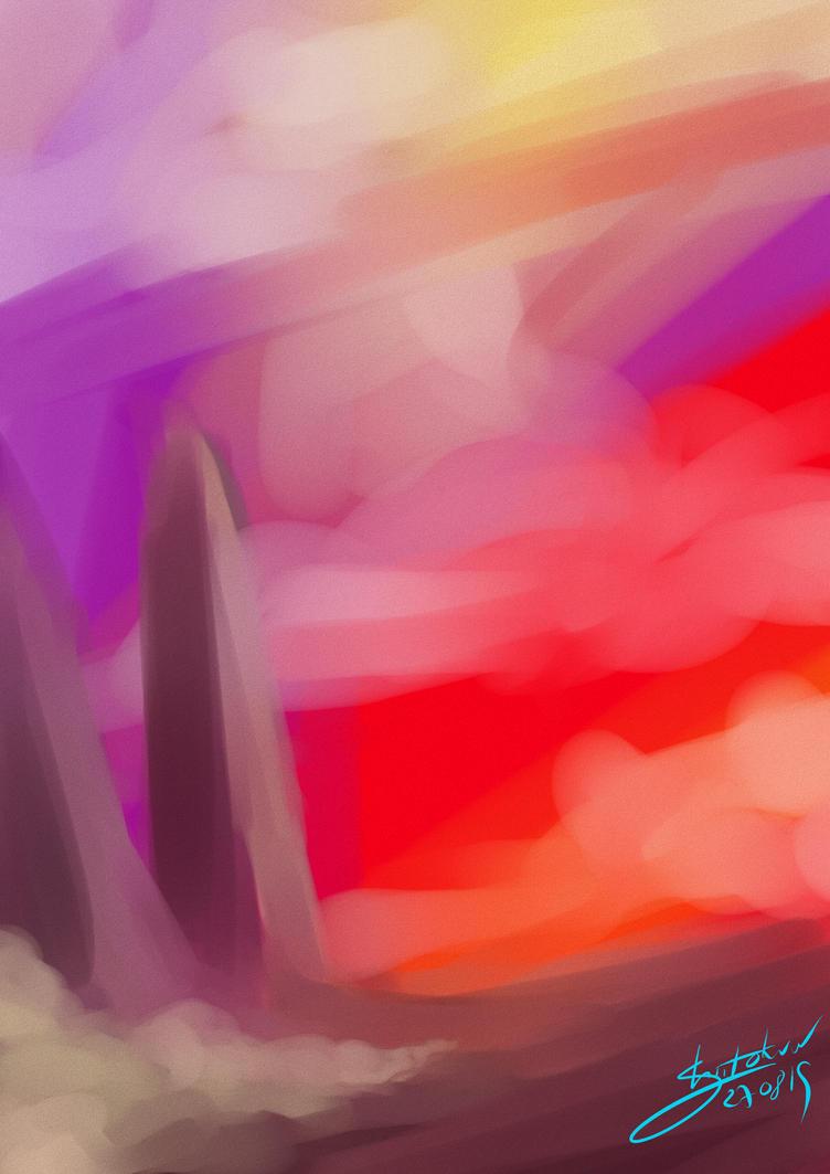 Random doodle - New Horizon by Shiito-kun