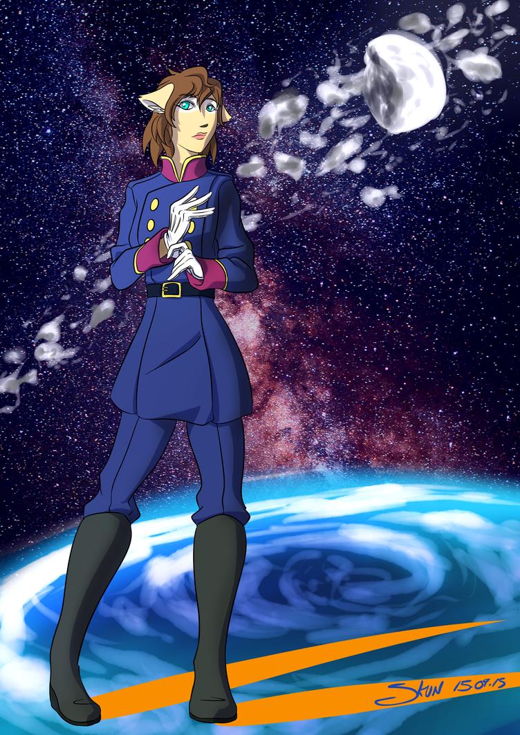 Keiko - Slaine cosplay by Shiito-kun