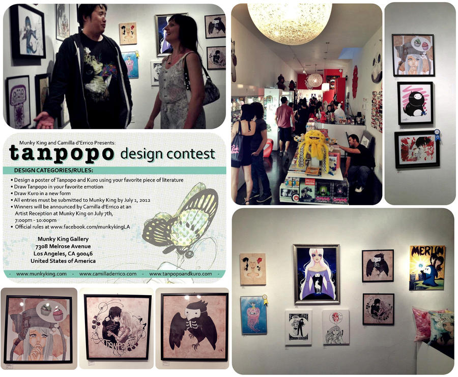 Tanpopo fan event at Munk King LA by BelialMadHatter