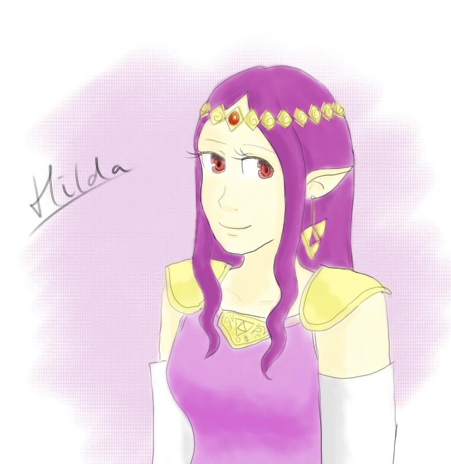 Hilda doodle by ClaireCherry