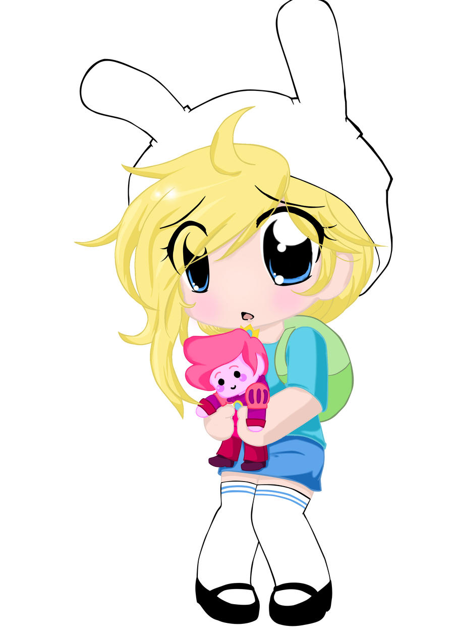 fionna the human chibi neko hibi by neko hibi on deviantart