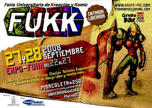 Afiche FUKK 2008