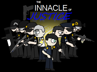 The Pinnacle of Justice by vickersmachinegun