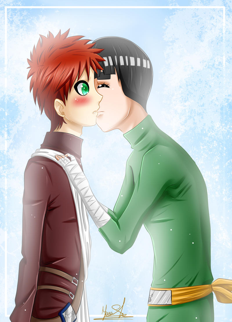 Gaara And Lee | www.imgkid.com - The Image Kid Has It! Gaara And Rock Lee