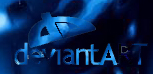 Deviant Art in the blue by xXSTR8FSXx