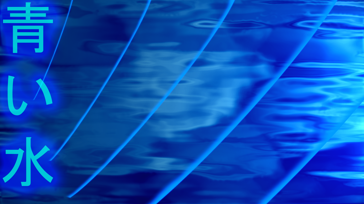 japanese blue water by xxstr8fsxx