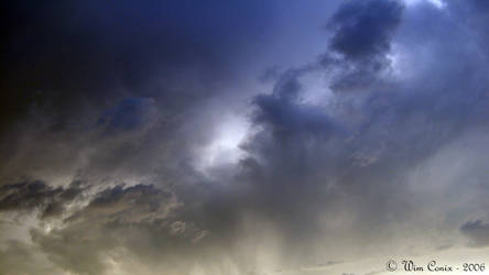 Scary sky...
