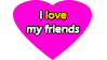 I love my friends by TheMarianOmi