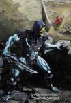 On Top Of Grayskull - A MOTU Skeletor Portrait