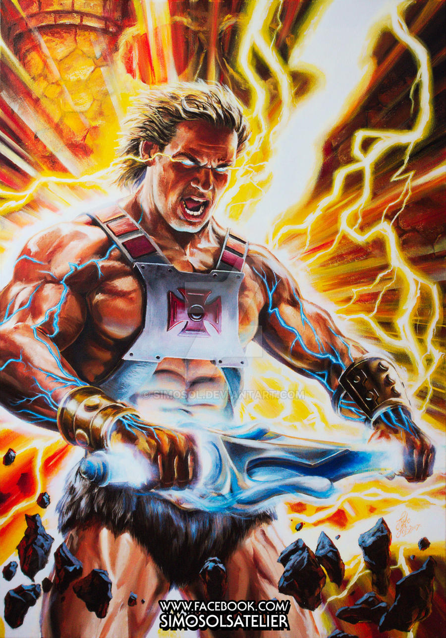 He Man I Have The Power By Simosol On Deviantart I have the power! is a commission art for this year's power con, as it will be on the con guide cover. he man i have the power by simosol on