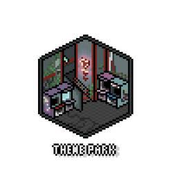 Pixel Isometric Theme Park by Ropolio