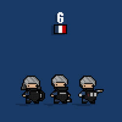 Rainbow 6 GIGN by Ropolio