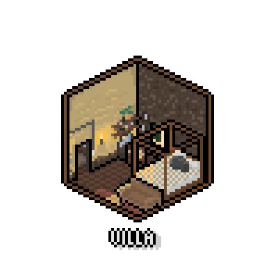 Pixel Isometric Villa by Ropolio