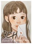 YCH Auction Watercolor #5 |CLOSED|