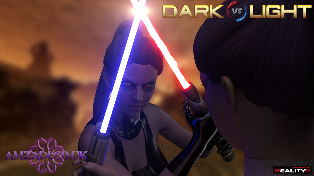 Dark vs Light (Solje 001 Close up) by Amzadi