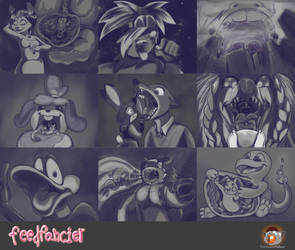Patreon Sketches - March 2021
