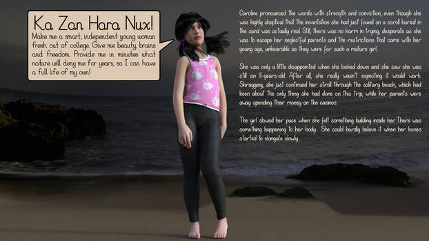 Ka Zan Hara Nux - AP 3D comic (Part 1 of 13) by PlanetoftheAP