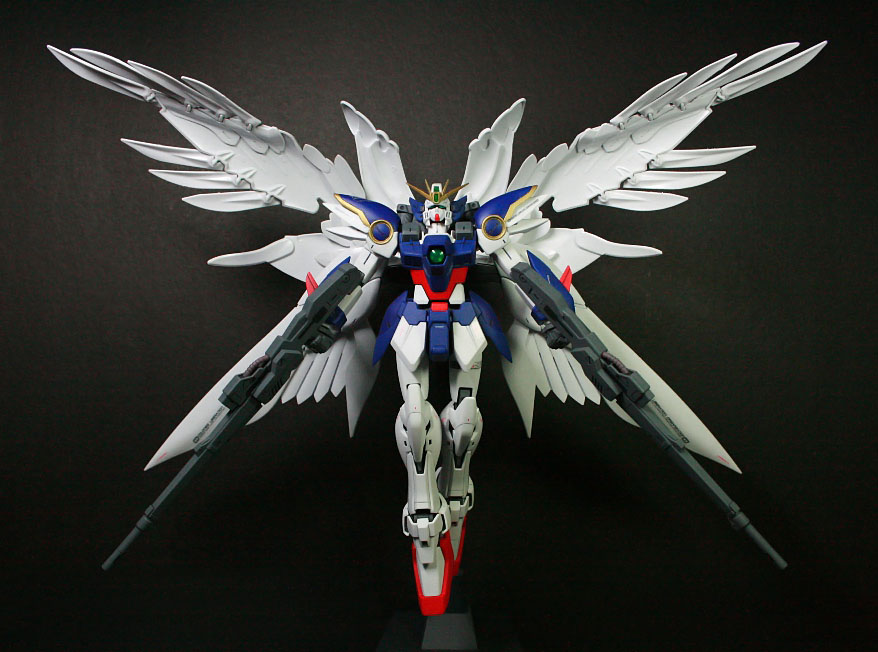 Wing Zero Custom Coloring Page