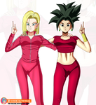 Android 18 and Kefla