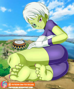 Commission - Chirai showing her soles