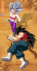 Commission - UI Caulifla beats Kanba