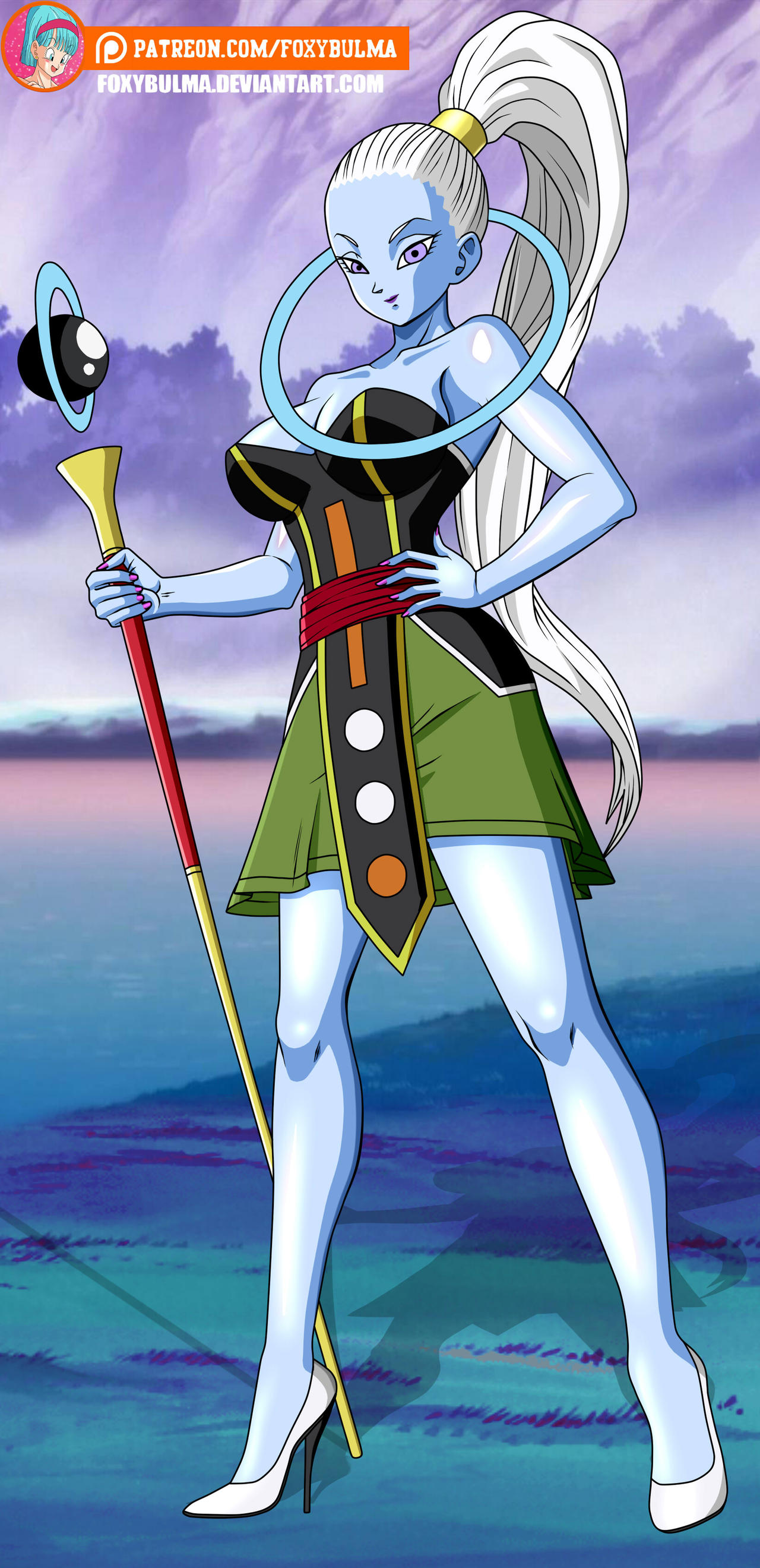 Commission - Vados new outfit by FoxyBulma on DeviantArt