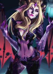 Dragon Sorceress Zyra by Ruuukka